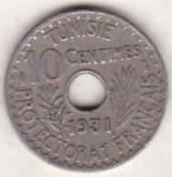 PROTECTORAT FRANCAIS. 10 CENTIMES 1931 - Tunisia