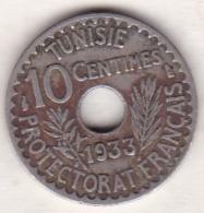 PROTECTORAT FRANCAIS. 10 CENTIMES 1933 - Tunisia