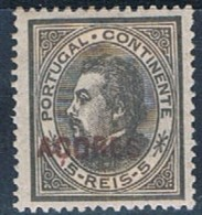 Açores, 1880/1, # 32 Dent. 12 3/4, MHNG - Azores