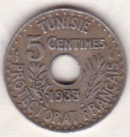 PROTECTORAT FRANCAIS. 5 CENTIMES 1933 Petit Module - Tunisie