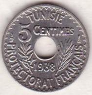 PROTECTORAT FRANCAIS. 5 CENTIMES 1938 Petit Module , Superbe - Tunisia