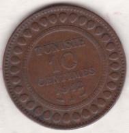 PROTECTORAT FRANCAIS. 10 CENTIMES 1912 A. BRONZE. - Tunisie