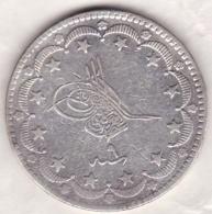 Empire Ottoman. 20 KURUSH AH 1277 Year 9. Abdul Aziz,  KM# 693, En Argent - Turquie