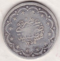 Empire Ottoman. 20 KURUSH AH 1255 Year 9. Abdul Mejid, KM# 675, En Argent - Turquie