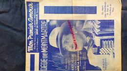 MON PREMIER AMOUR-DEDE DE MONTMARTRE-1941- ALBERT PREJEAN-DEDE LA MUSIQUE- VALSE MUSETTE-ROGER DUMAS-GASTON MONTHO - Scores & Partitions