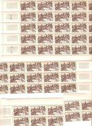 N°332 ** Elysée 4 Blocs De 25,15,6 Et 4 Timbres (total 50 Timbres) - Réunion (1852-1975)