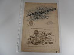 Document ( 160 ) Graphische Munsterblätter  Beilage Der Freien Künstle Wien & Leipzig - Kusel  Bochum  Deutschland - Reklame