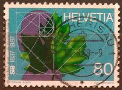 SUIZA 1987 Anniversaries. USADO - USED. - Suiza