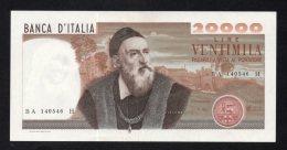 Banconota Lire 20.000 Tiziano 21/2/1975 (quasi FDS) - [ 2] 1946-… : Républic