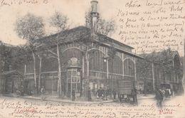 CPA (75) PARIS.  Les Halles, Animé, Attelage, Pub PICON. ..G692 - Francia