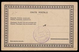 1914 Collectes - Hommage A Nos Souverains Albert I & Elisabeth Et Adolphe Max Bourg. De Bruxelles - Voir Verso - Guerre 1914-18