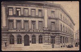 BRUXELLES - Bon Plan Agence BANQUE DE PARIS ET DES PAYS BAS 31 Rue Des Colonies - 2 Scans - België