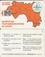 GUINEA - Orange Map 150 Units(reverse C), CN : C55150168, Used - Guinee