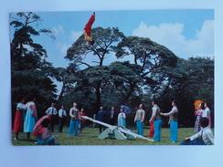 Korea North  DPRK Sauts Sur Bascule Acrobatie Folklorique    A 147 - Korea, North