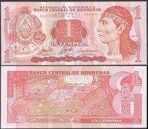 Honduras 1 LEMPIRA 2006 P 84e UNC - Honduras