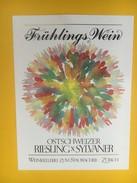 5123 - Frühlings Wein Vin Du Printemps Riesling-Sylvaner Suisse - Art