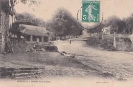 52 SERQUEUX  Coin Du Village  Homme Sur Le Chemin De La PLAINE Timbre 1909 - Francia