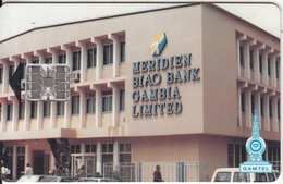 GAMBIA - Meridien Biao Bank, Red CN : C4C148090, Used - Gambia