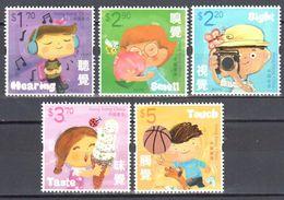 China - Hong Kong 2017 - Childrens - Butterflies MNH (**) - Schmetterlinge