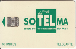 MALI - Soltelma Logo(small) 60 Units, Reverse B(with Moreno Logo), Chip SC7, Rec CN : C53149149, Used - Mali