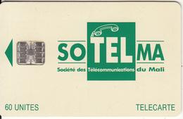 MALI - Soltelma Logo(small) 60 Units, Reverse B(with Moreno Logo), Chip SC7, Rec CN : C46145631, Used - Mali