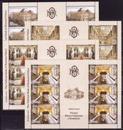 Romania, 2013, The National Bank, 4 Minisheets - 1948-.... Républiques
