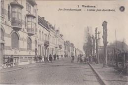 WETTEREN-JAN BROECKAERTLAAN-VOLK+SPOORWEG-VERZONDEN-1922-PLOOI-RECHTSONDER-ZIE DE 2 SCANS - Wetteren