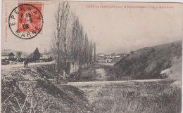 Marne : VITRY Le  FRANçOIS Avant Le  Démantélement  Coté Du Rond  Point ( Cachet Epernay) - Vitry-le-François