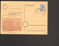 Alli.Bes.12 Pfg.Arbeiter Auf Sonder-Postkarte  Mit Sonderstempel Köln Rhein-Posta Von 1947 2 Bilder - Zone AAS