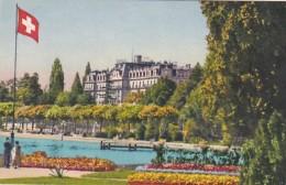 Switzerland Geneve Le Palais des Nations depuis le Parc Mon-Repo