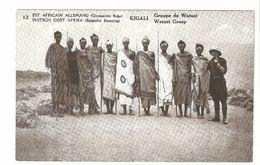 Duitsch Oost Afrika / Est Africain Allemand - Belgische Bezetting - Advertentie Postkaart - Kigali - Watuzi Groep - 1917 - Rwanda