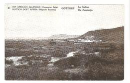 Duitsch Oost Afrika / Est Africain Allemand - Belgische Bezetting - Advertentie Postkaart - Gottorp - De Zoutmijn - 1917 - Rwanda
