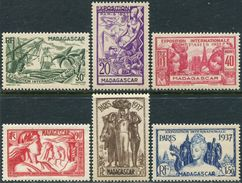 Madagascar 1937. Michel #240/45 VF/MNH. World Exhibition In 1937, Paris. (Ts48) - 1937 Exposition Internationale De Paris