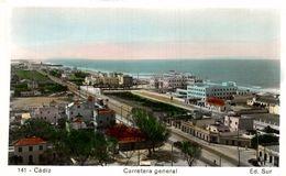 CADIZ.- CARRETERA GENERAL - Cádiz