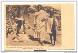ABISSINIA  MISSIONI ESTERE SAN VINCENZO - VIAGGIATA FP - Ethiopia