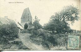 N°55040  -cpa église De La Pernelle - Autres Communes