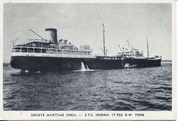 N°55047  -cpa S.T.S. Iridina  -ste Maritime Shell- - Commerce