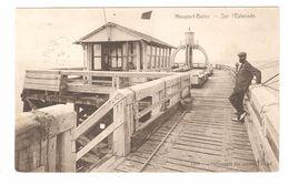 Nieuwpoort / Nieuport-Bains - Sur L'Estacade - 1908 - Geanimeerd - Nieuwpoort