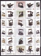 Romania, 2012 Old Irons, 6 Pairs With Labels, 12 Stamps - 1948-.... Repúblicas
