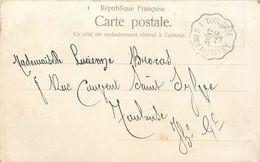 LETTRE Carte Cachet Ambulant 1904 Ax Les Thermes à Toulouse   2scans - 1877-1920: Periodo Semi Moderno