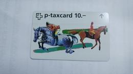 Switzerland-(w-25b)-zurich-CSI-zurich Art-(622l)-(10chf)-tirage-4.450-used+1card Prepiad Free - Suisse