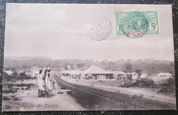 Guinée Kindia Vue Generale   Cpa Timbrée - Guinea