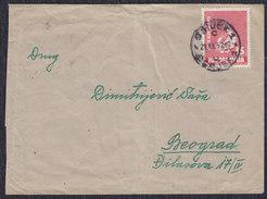 Yugoslavia 1952 Children's Week, Letter Sent From Osijek To Beograd - 1945-1992 Socialist Federal Republic Of Yugoslavia