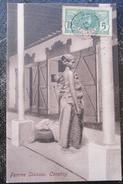 Guinée Femme Soussou Conakry   Cpa Timbrée - Guinea