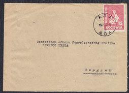 Yugoslavia 1952 Children's Week, Letter Sent From Ada To Beograd - 1945-1992 Socialist Federal Republic Of Yugoslavia