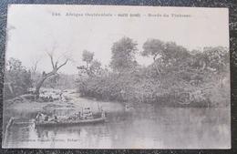 Guinée Haute Bords Tinkisso    Cpa Timbrée Voir Obliterations - Guinea