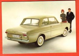 IBY-03 Ford Taunus 12 M, Non Circulé, Carte Publicitaire - Passenger Cars