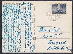 Yugoslavia Croatia 1951 Mali Losinj, Postcard - Joegoslavië