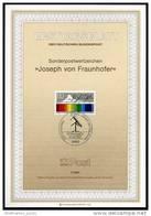 BRD - ETB (Ersttagsblatt) 7/1987 Michel 1313 - Joseph Von Frauenhofer - Wert 0,40 Mi€ - Ex 0,56€ PP - FDC: Feuilles
