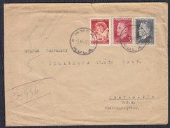 Yugoslavia 1950 Marshal Tito, Letter Sent From Kula To Bratislava - 1945-1992 Socialist Federal Republic Of Yugoslavia